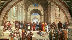 """""""Escola de Atenas"""", de Raphael"""