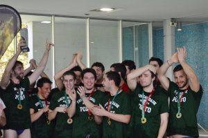 Universidade do Porto conquista o título coletivo no Campeonato Nacional Universitário de Pólo Aquático