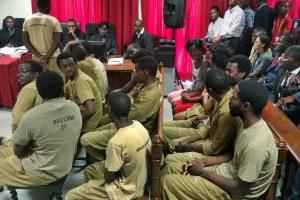 Julgamento dos 17 ativistas. Por Paulo Juliao/EPA