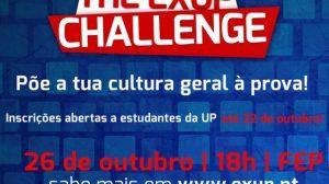 The EXUP Challenge acontece dia 26