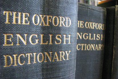 O Dicionário de Inglês Oxford é dos mais conceituados.