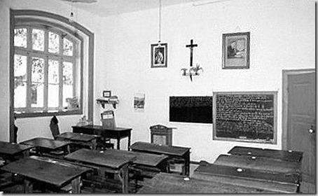 Sala da Escola primária Adães Bermudes, Alcobaça, em 1938