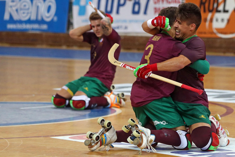 Hóquei em patins. Portugal perde com Argentina