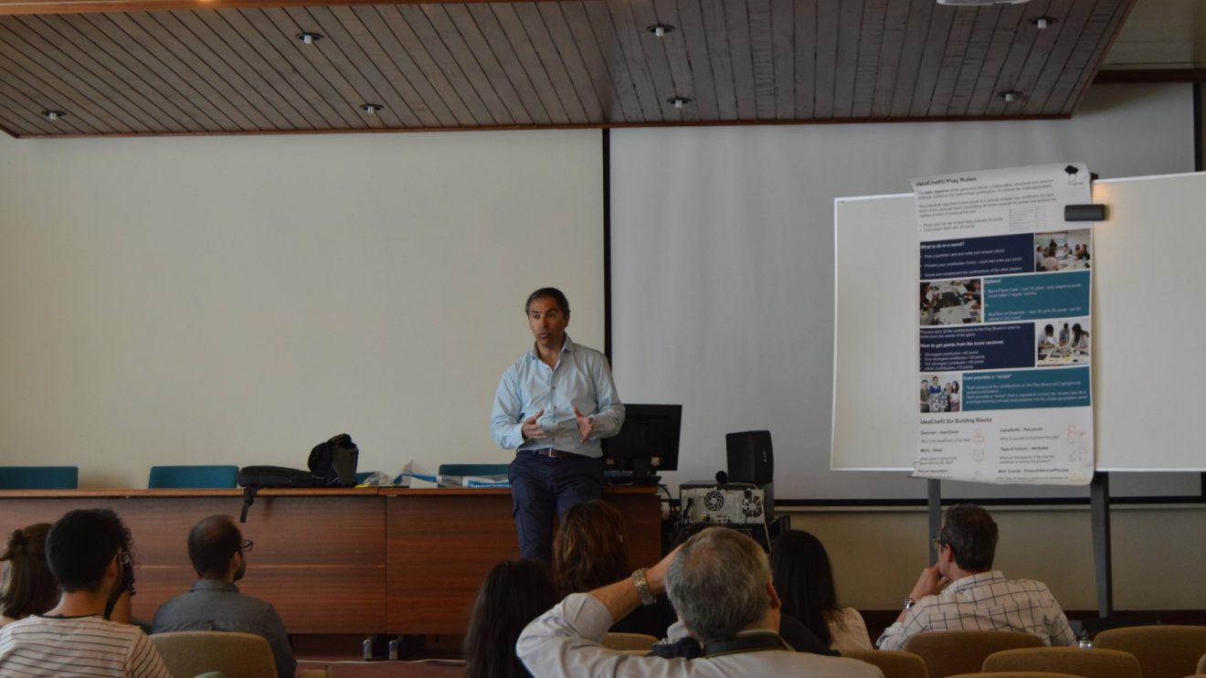 Rui Patrício - Introdução do workshop   Foto: ISEP.Start