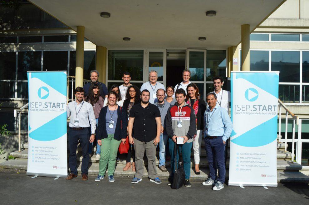 Equipas e organização   Foto: ISEP.Start