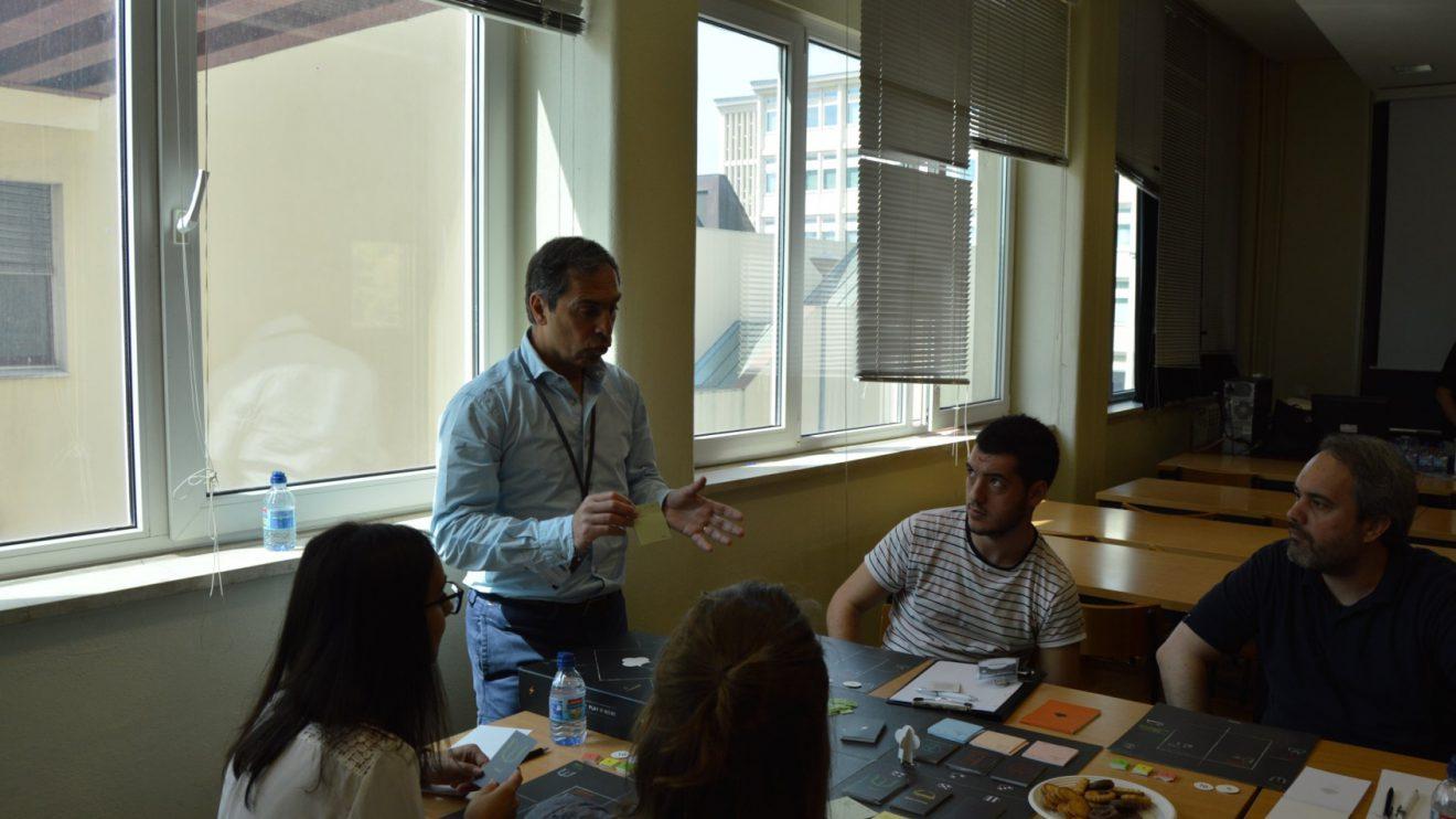 Rui Patrício - Esclarecimento das regras do jogo   Foto: ISEP.Start