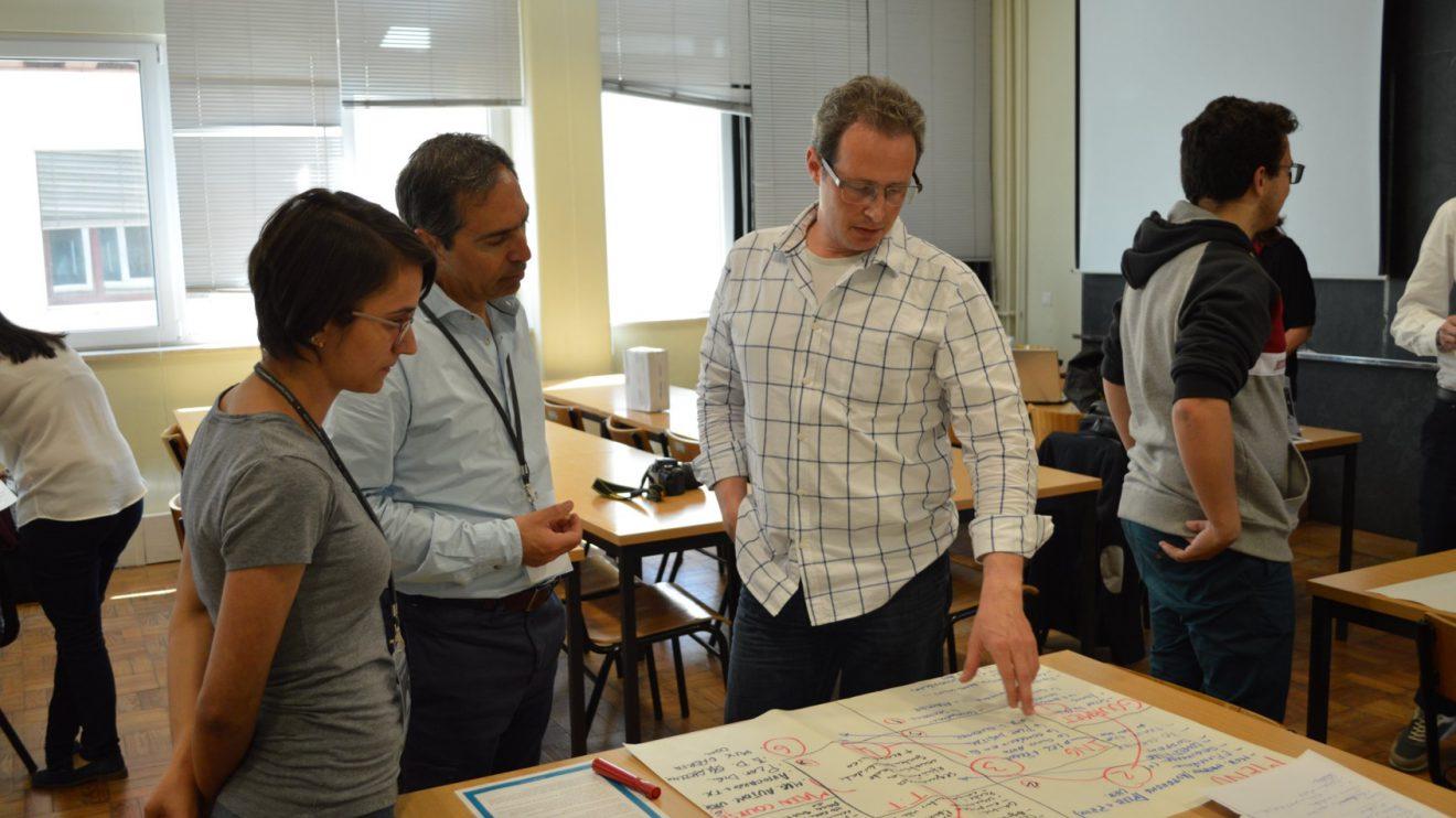 Demonstração das ideias   Foto: ISEP.Start