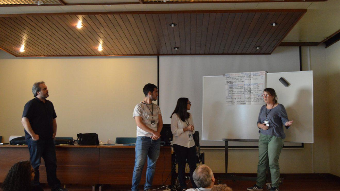 Pitch - Apresentação das conclusões   Foto: ISEP.Start