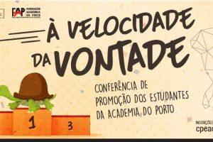 Foto:  Conferência de Promoção dos Estudantes da Academia do Porto
