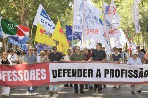Greve Geral dos professores | Foto: Jorge Paula
