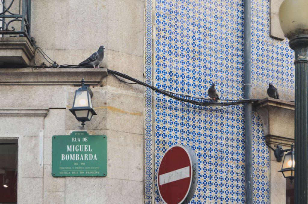 Rua Miguel Bombarda. Fotografias por Bruna Neto.