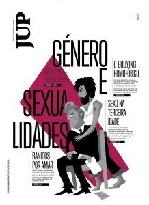 Capa da última edição impressa do JUP (março de 2015). Imagem cedida por Joel Pais.