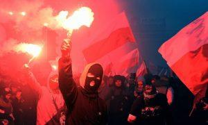 Manifestações na Polónia