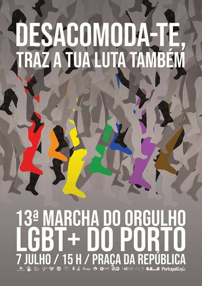 Fonte:  Marcha do Orgulho LGBT do Porto