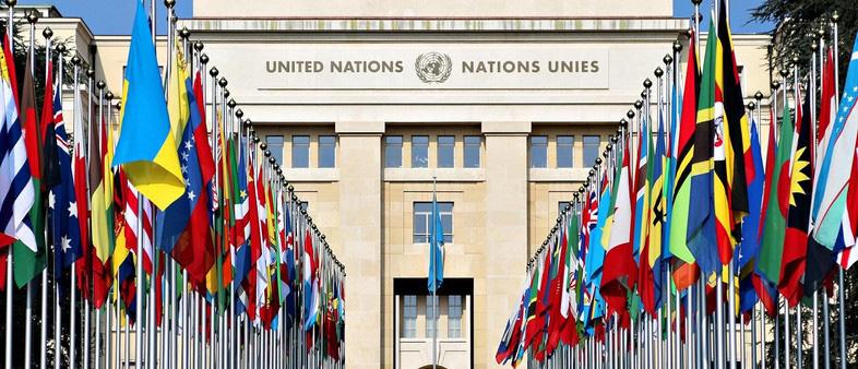 Palácio das Nações - Sede da ONU em Genebra