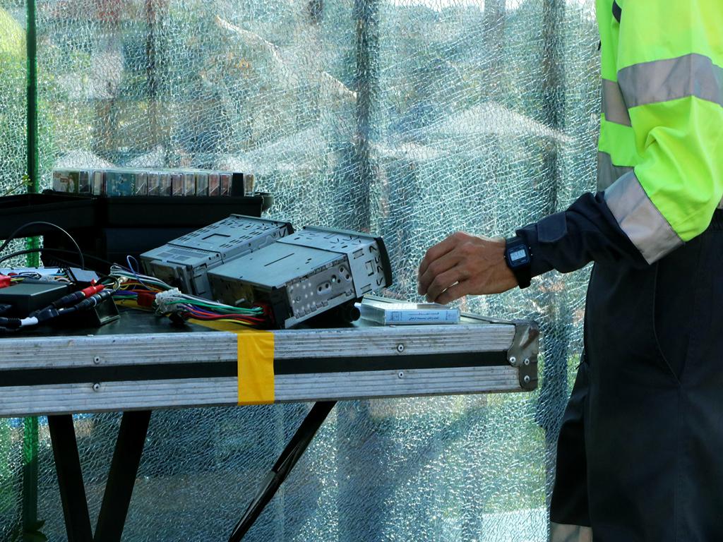 DJ K-sets no Palco Piscina. Fotografia por Mariana Filipa.