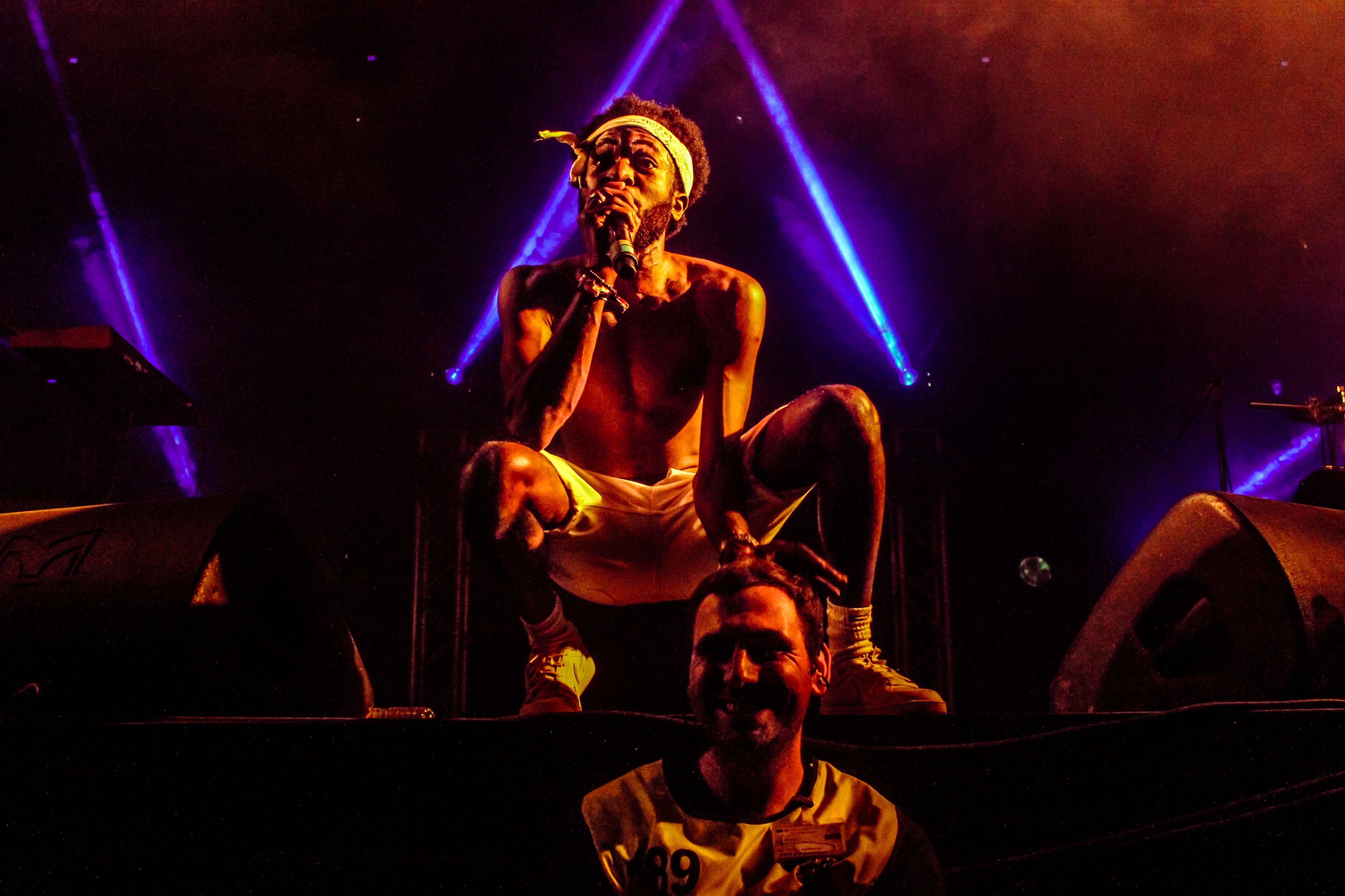 Throes + The Shine. Fotografia: Sofia Silva