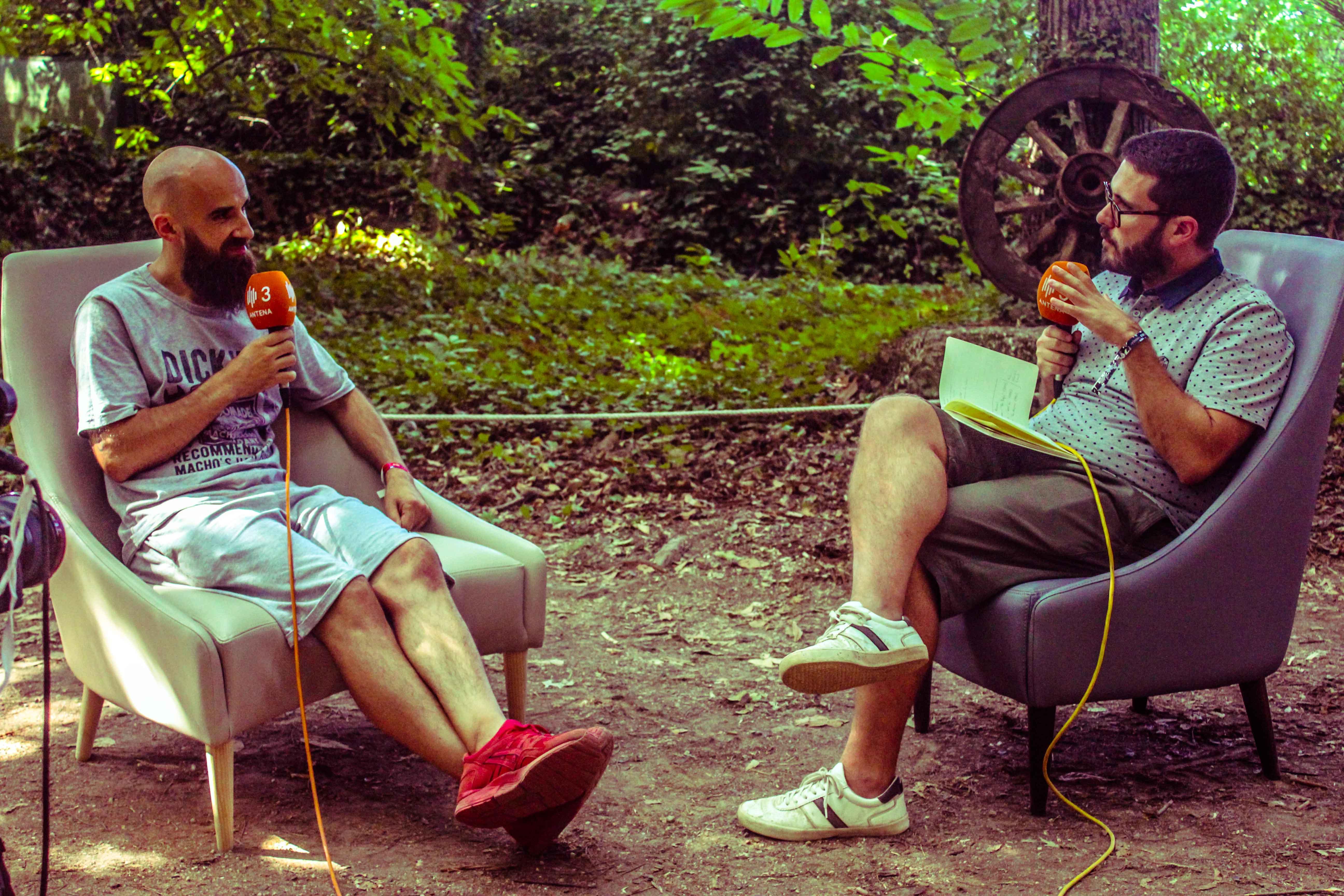 À conversa com Mundo Segundo. Fotografia: Sofia Silva