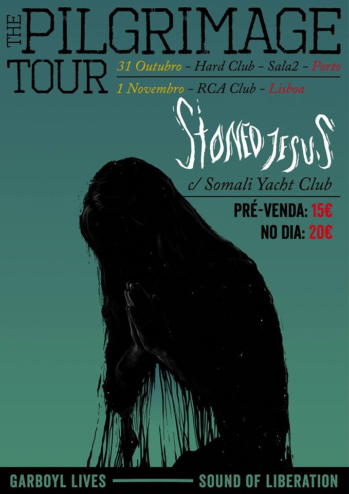 Somali Yacht Club e Stoned Jesus: cartaz.