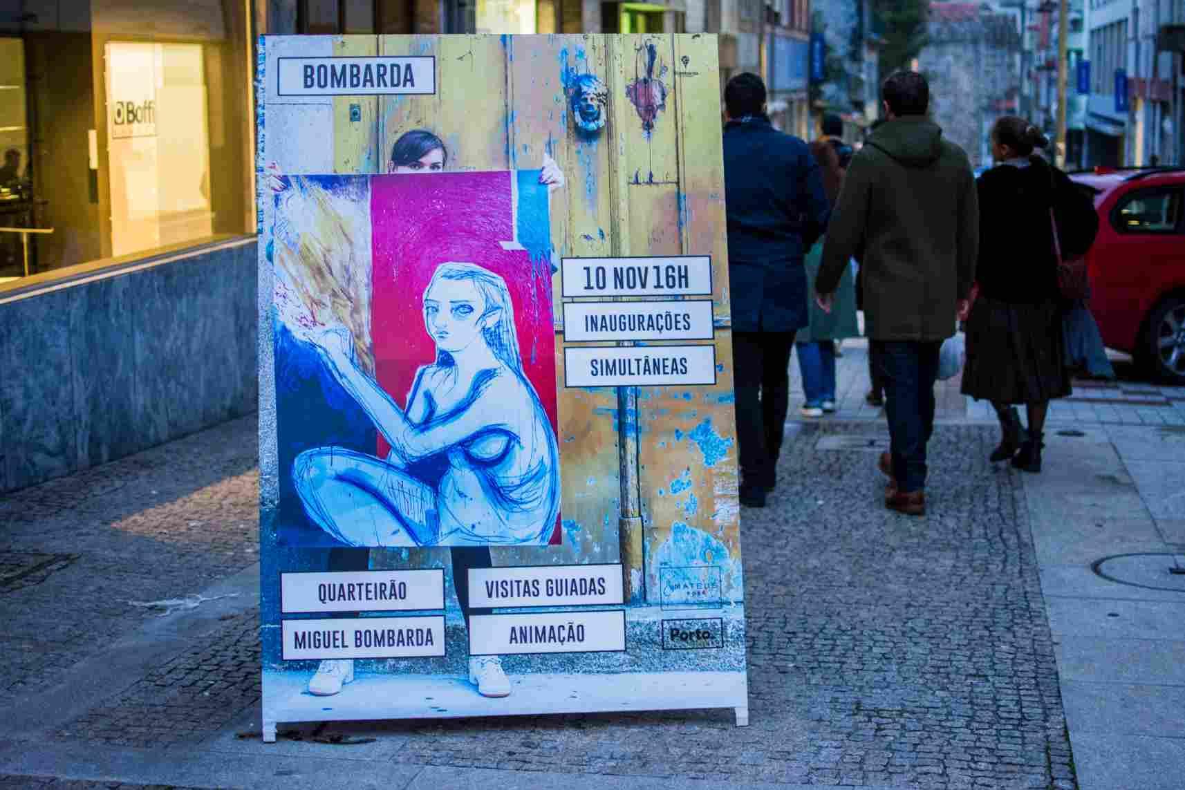 Inaugurações Simultâneas na Rua de Miguel Bombarda. Fotografia por Eli Pinheiro.