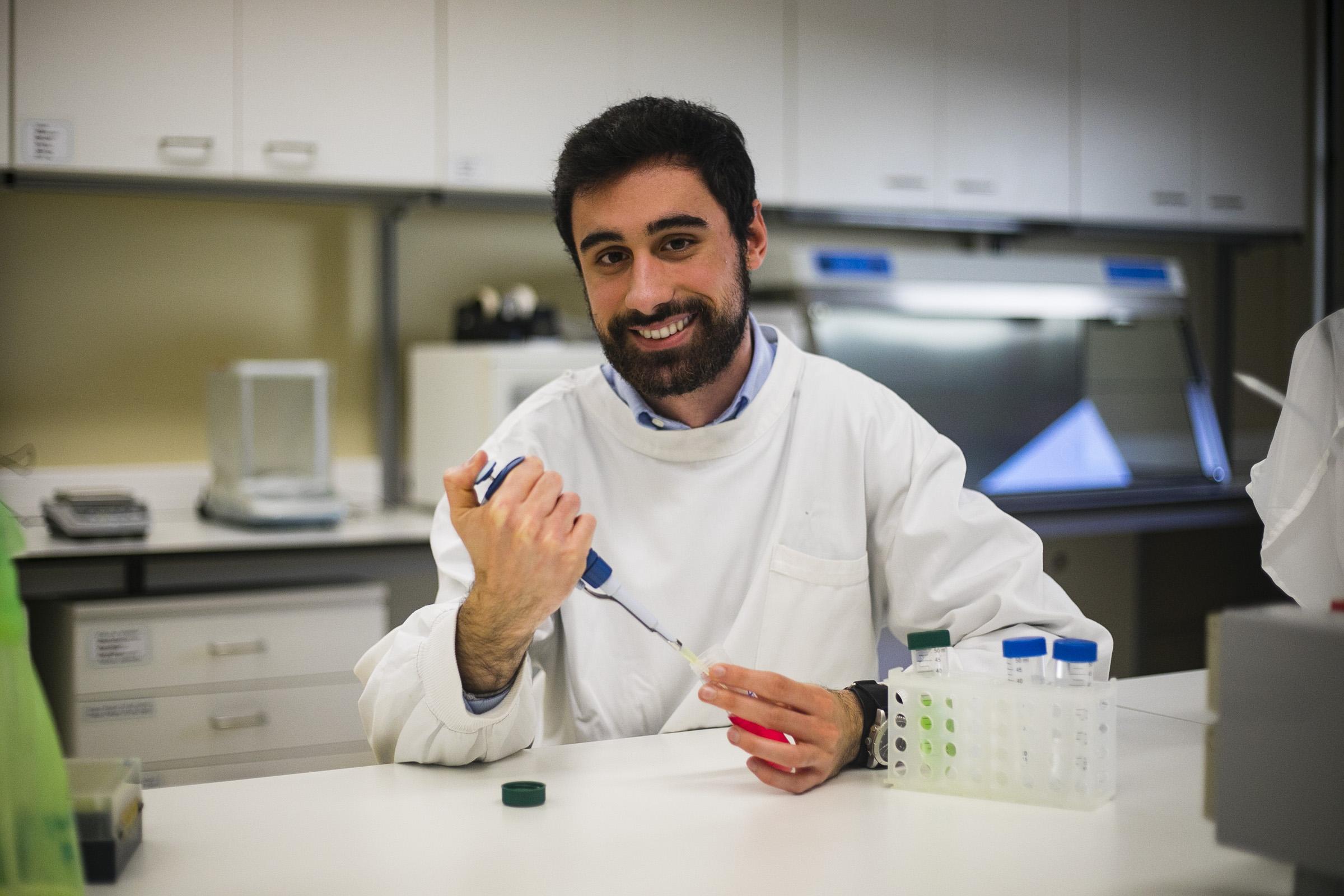 Bruno Sousa estudou processos de destoxificação em tomateiro.