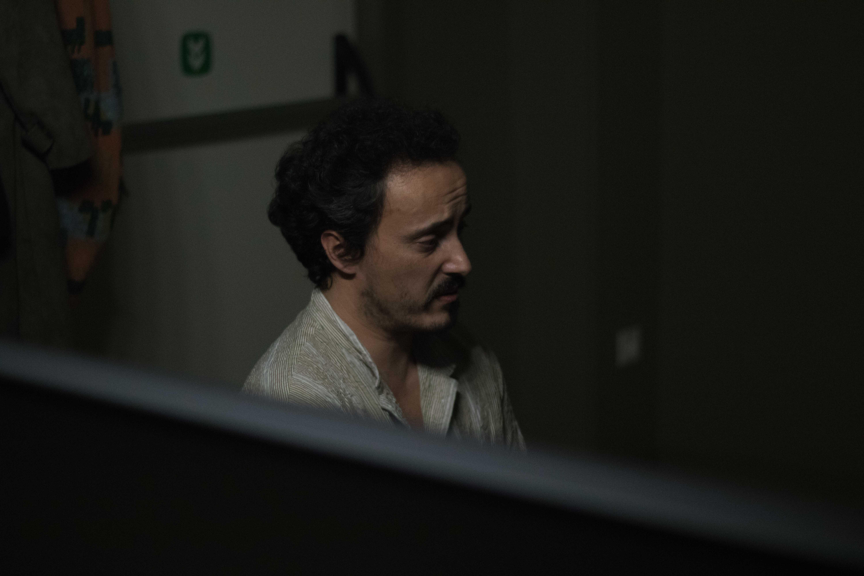 S, Pedro nos bastidores. Fotografia: Mariana Cardoso.