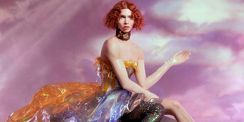 """Capa de """"Oil of Every Pearl's Un-Insides"""", de SOPHIE."""