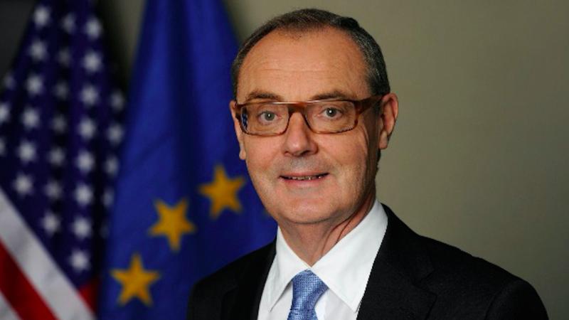 David O'Sullivan, diplomata da União Europeia nos Estados Unidos da América desde 2014