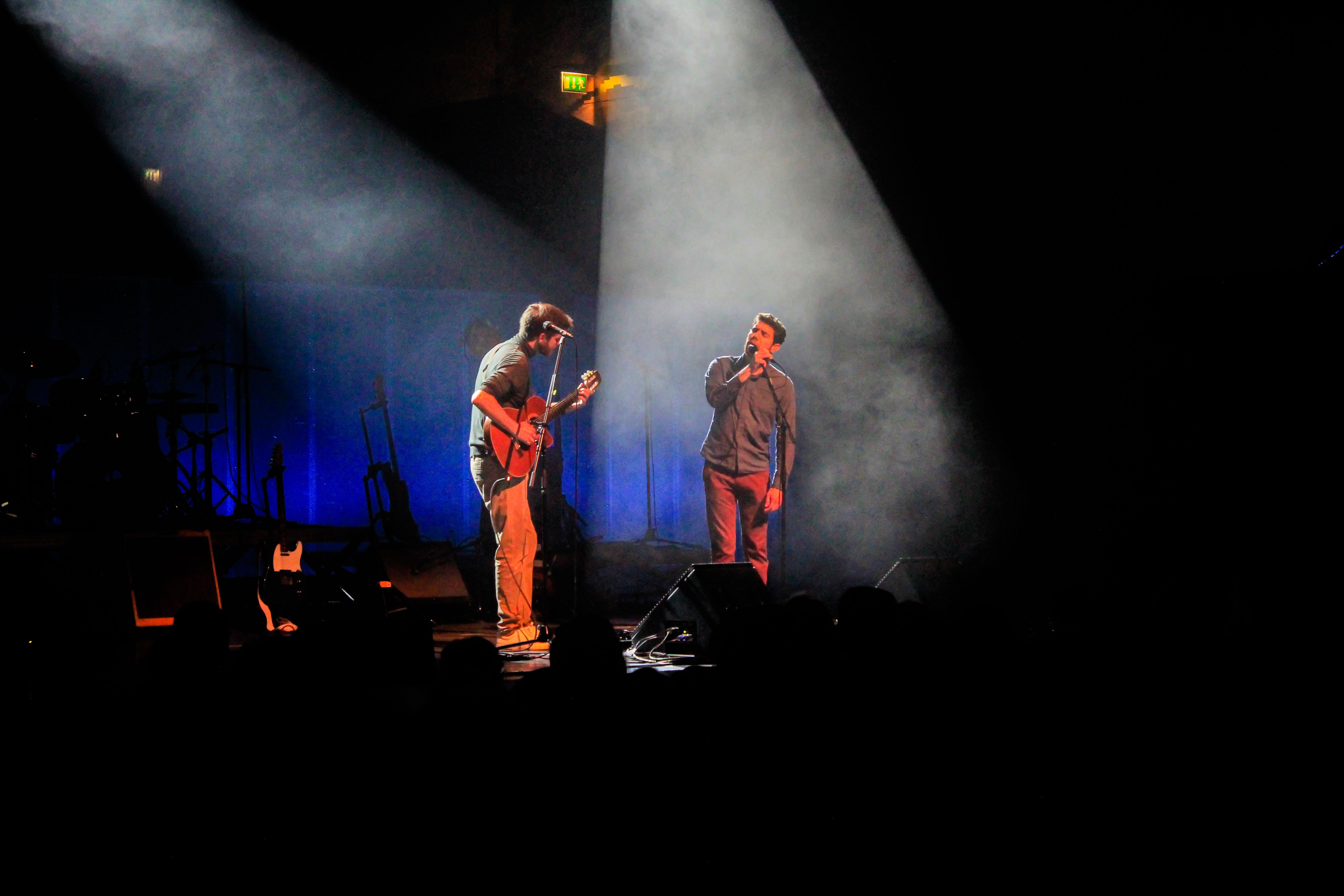 Tiago Nacarato e Luca Argel. Fotografia: Joana Nogueira