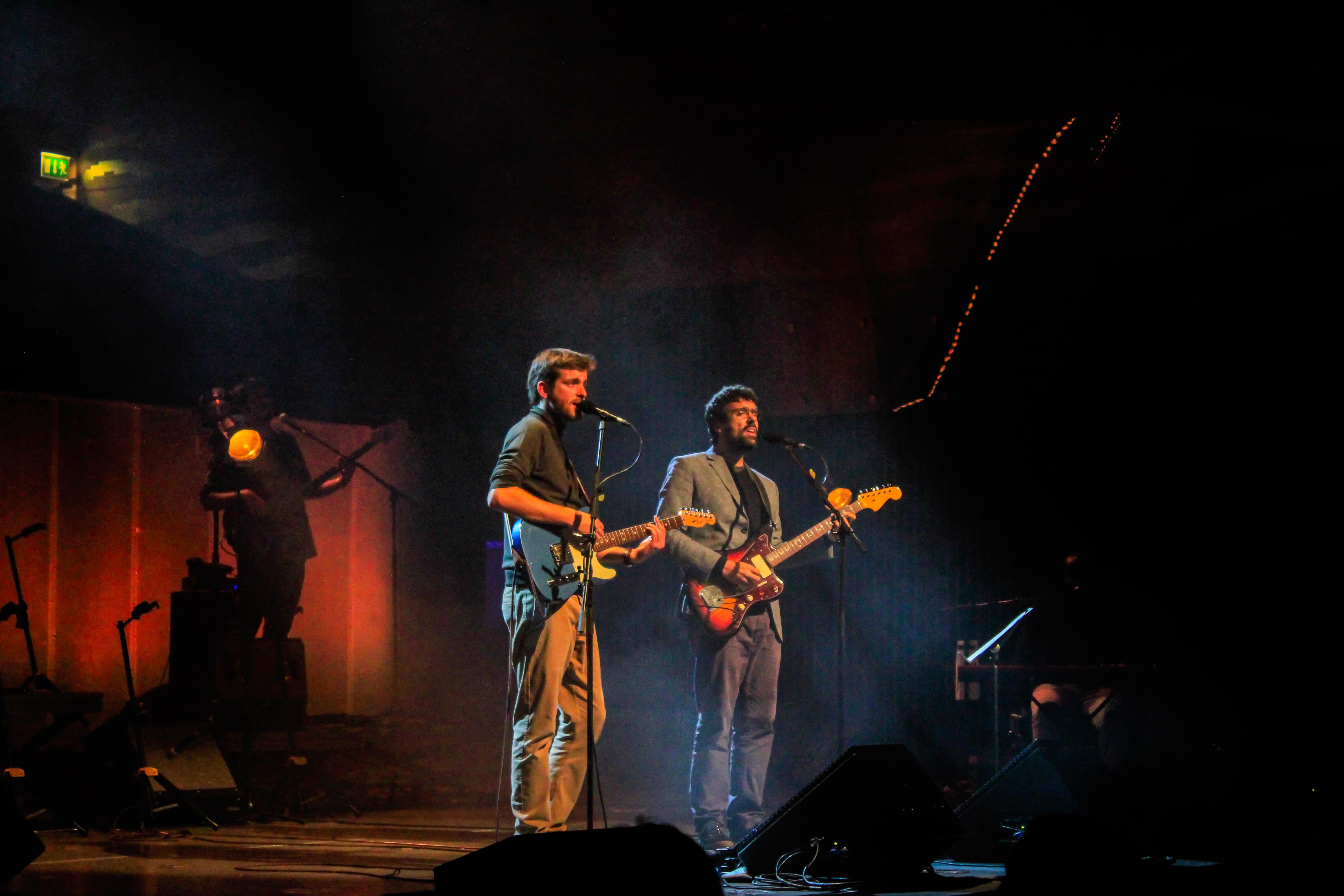 Tiago Nacarato e Miguel Araújo. Fotografia: Joana Nogueira