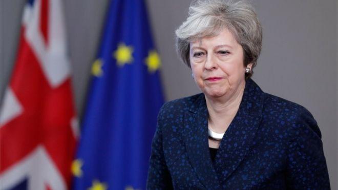 Primeira-ministra britânica Theresa May [Foto: EPA]
