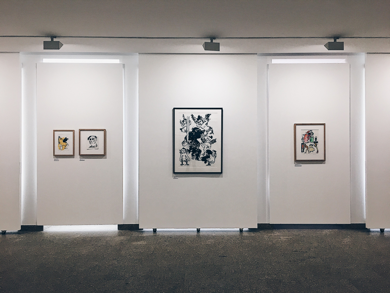 """Sala """"Anos 80"""". Fotografia por Francisco Lima."""