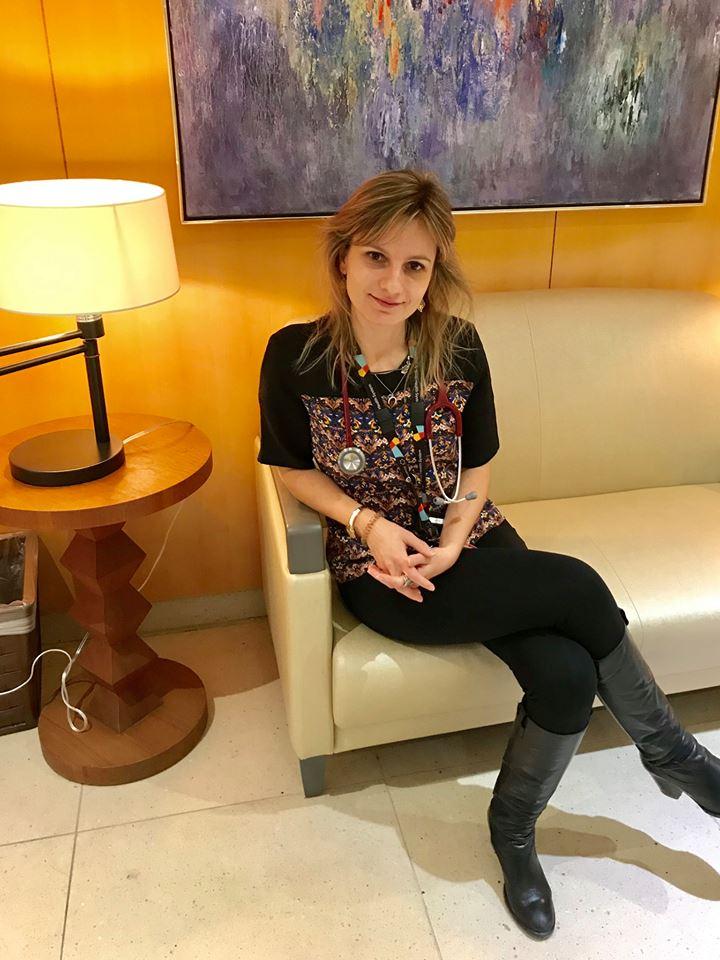 Isabel Sousa Pimentel estudou no Porto e é médica oncologista em Toronto.