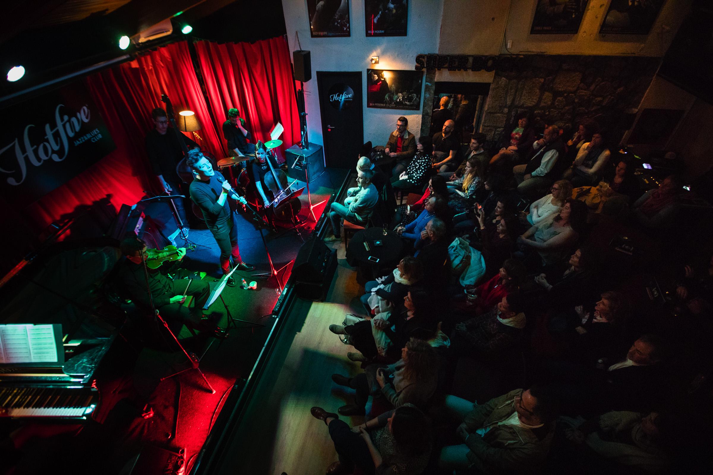 André Viamonte no Hot Club. Fotografia: Miguel Marques Ribeiro.