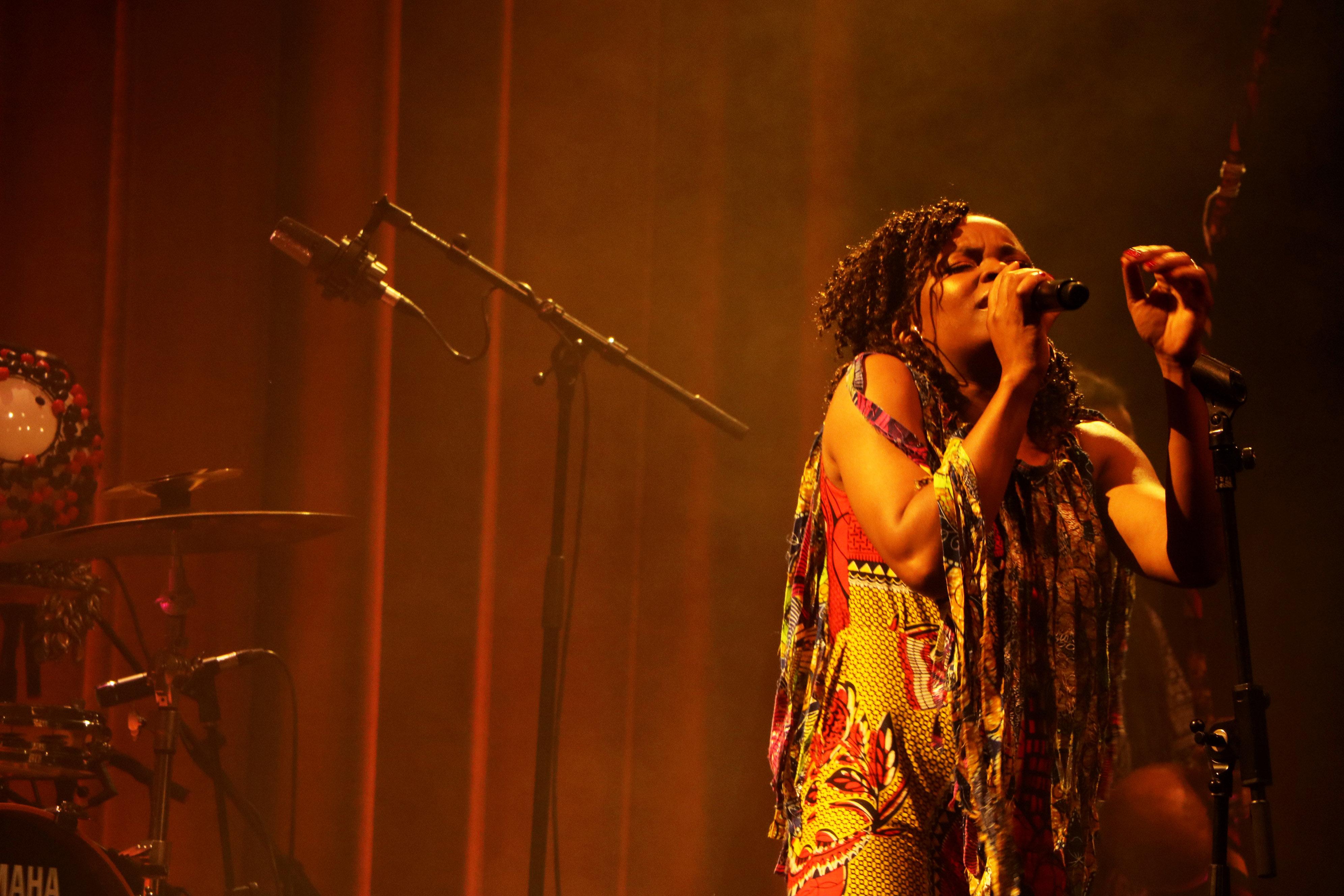 Selma Uamusse, Casa da Música. Fotografia: Mariana Bragada