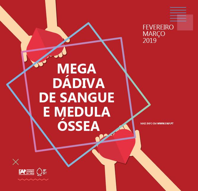 Mega Dádiva de Sangue e Medula Óssea 2019 .