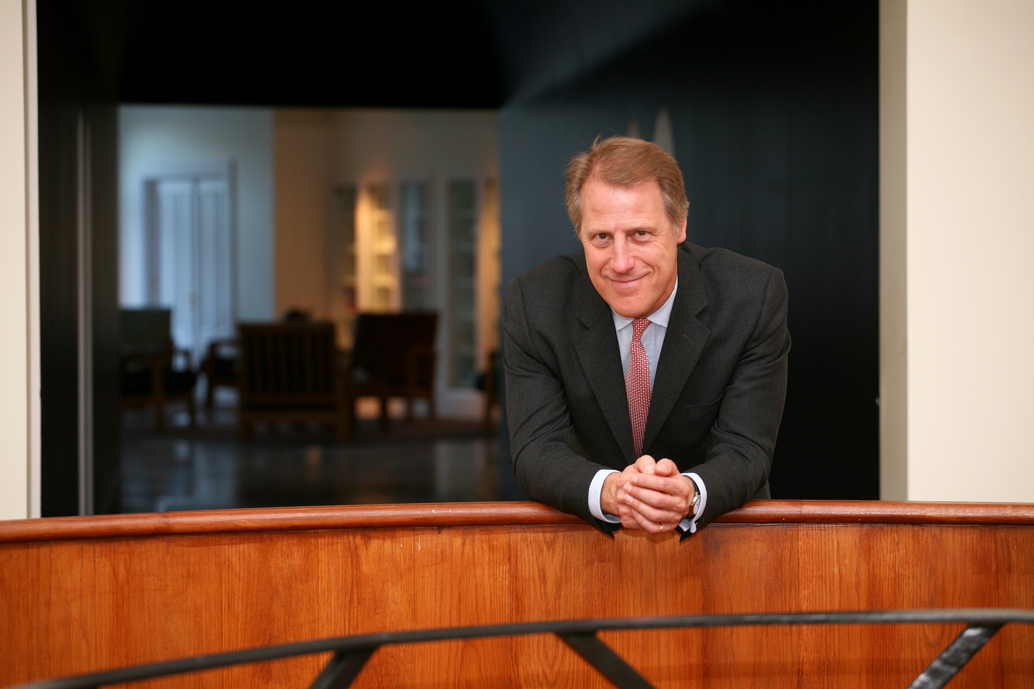 Adrian Bridge, CEO da Taylor's Port. Imagem CCL 2019.
