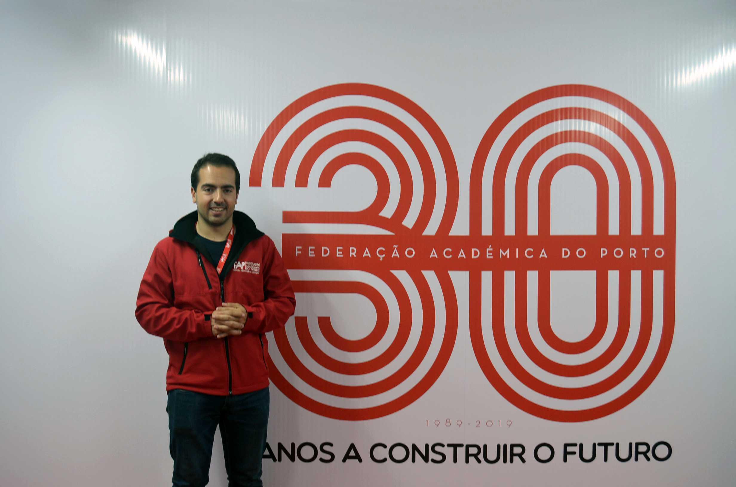João Videira, presidente da FAP. Fotografia por Ana Rita Félix.