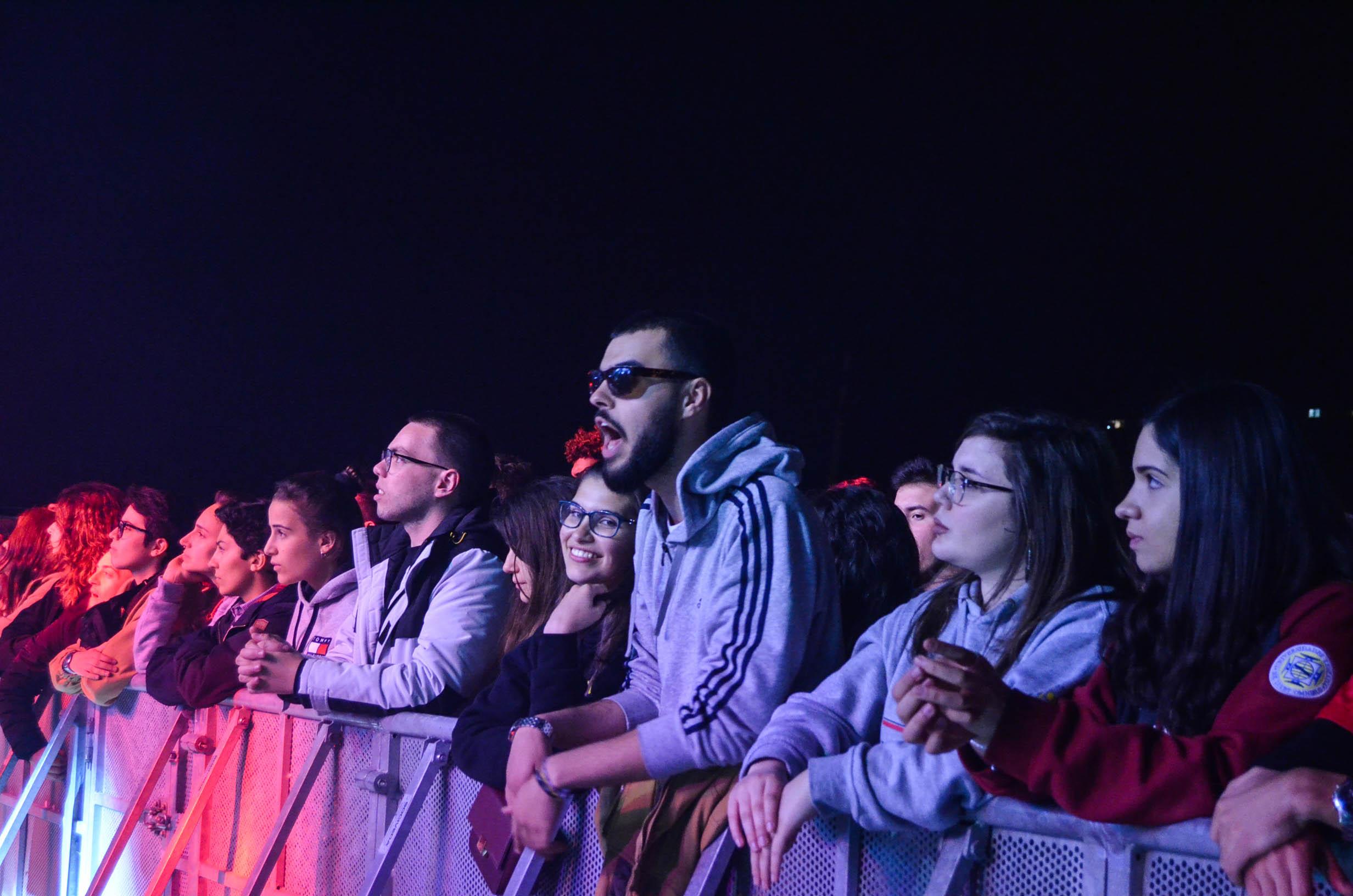 Público na Queima das Fitas do Porto 2019. Fotografia de Ana Rita Félix.