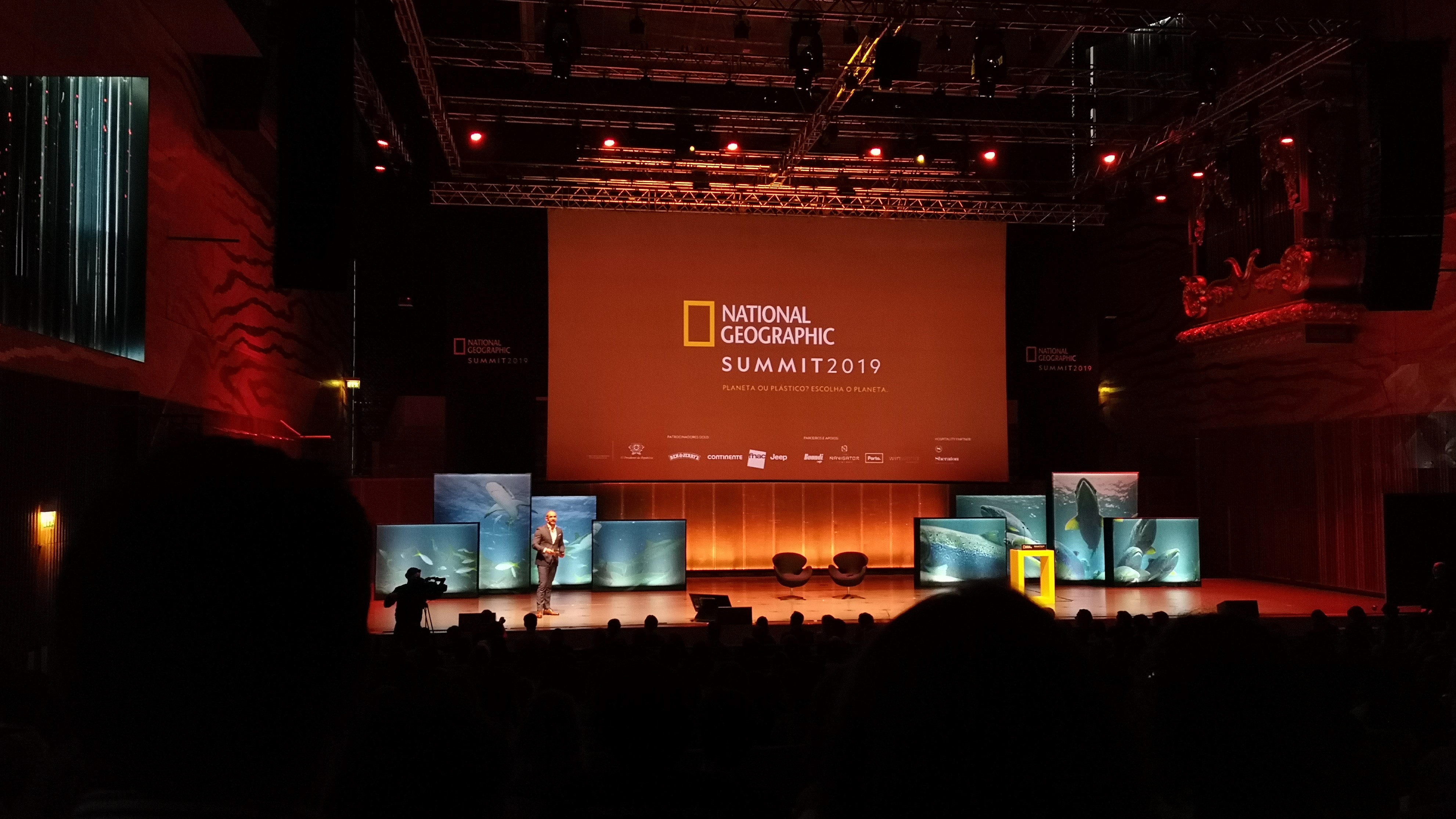 National Geographic Summit 2019. Fotografia: Mariana Miranda.