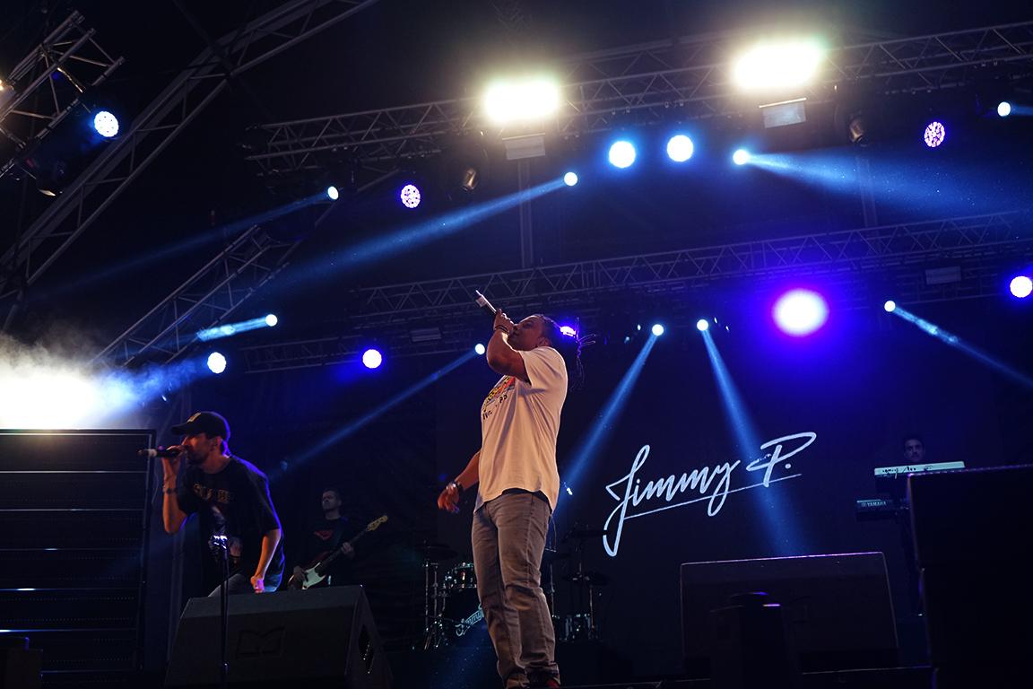 Jimmy P na Queima das Fitas do Porto 2019. Fotografia de Margarida Coelho.