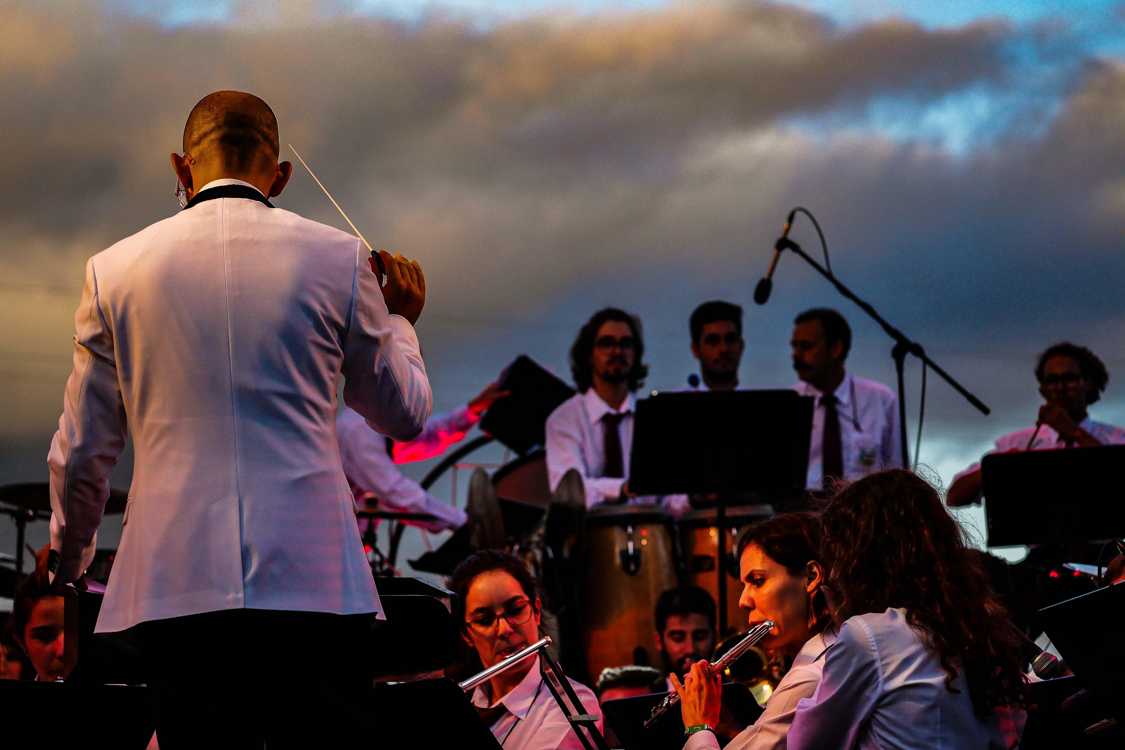 Orquestra Filarmónica Gafanhense. Fotografia: João Norte.
