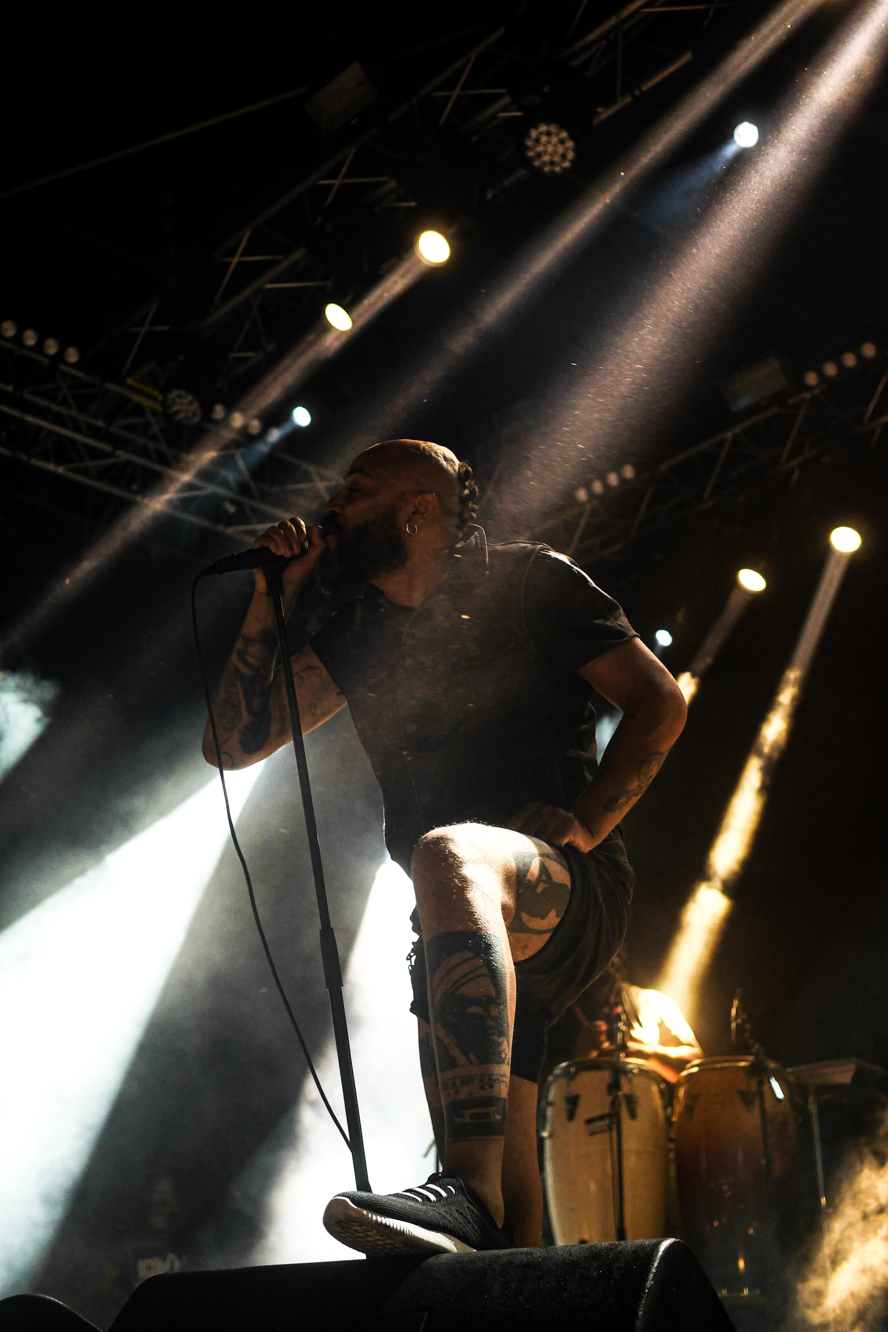 Marcus Veiga (Scúru Fitchádu). Fotografia: João Norte.