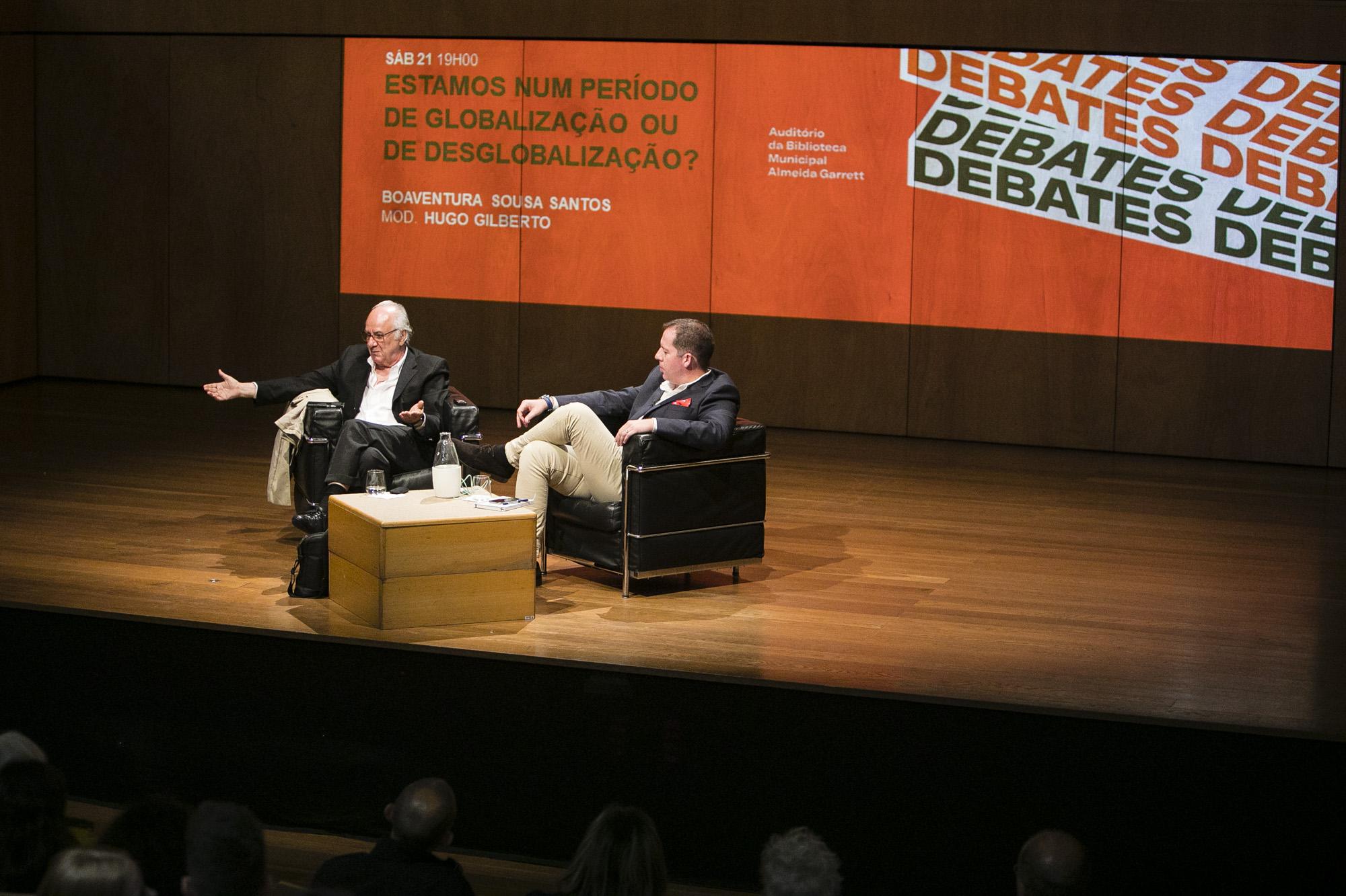 Conferência ''Estamos num período de Globalização ou Des-globalização?'. Fotografia: Miguel Marques Ribeiro