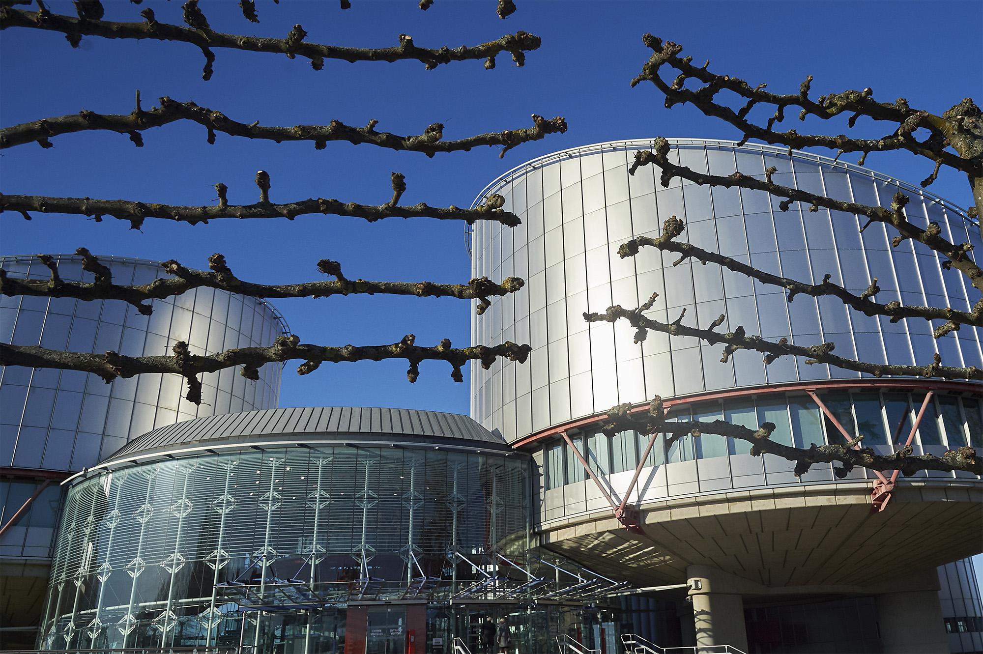 © Council of Europe/ Ellen Wuibaux. Edifício do Tribunal Europeu dos Direitos Humanos, em Estrasburgo, França.
