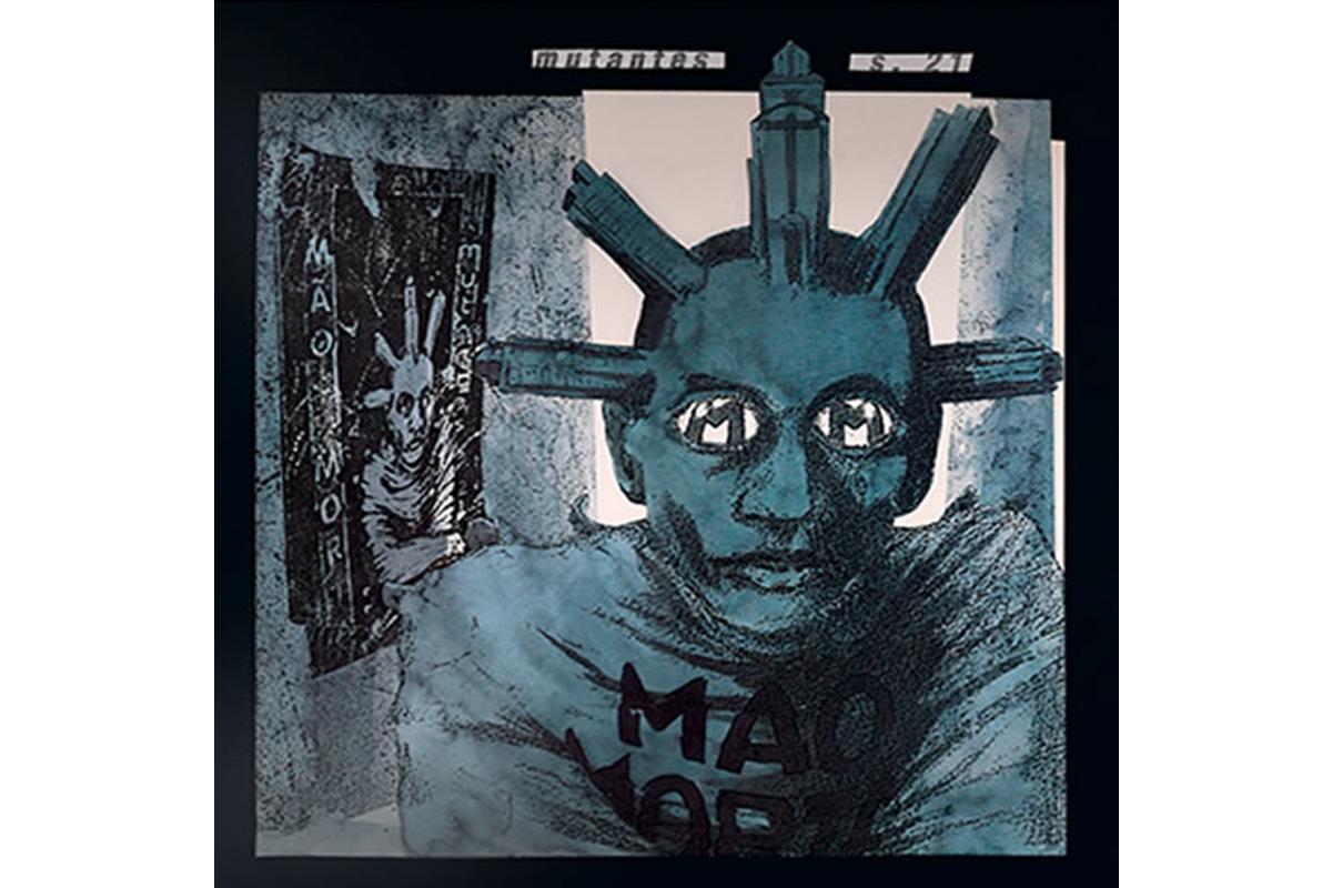 Capa do albúm Mutantes S21, editado pela FUNGUI, em 1992. Direitos Reservados