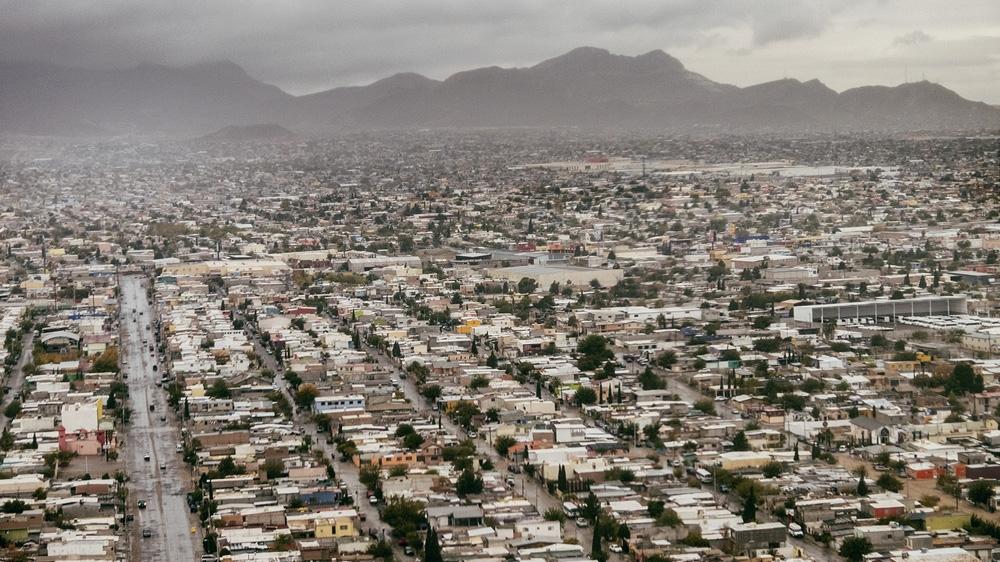 Cidade de Juaréz, para onde os migrantes são enviados ao abrigo do Remain in Mexico. Foto: Aljazeera |