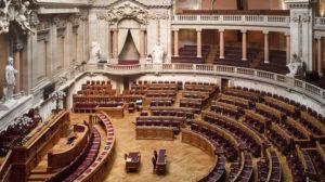 Sala das sessões da Assembleia da República. Foto: Carlos Pombo