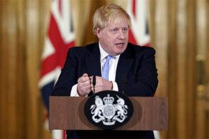 Primeiro-ministro britânico, Boris Johnson. Fonte: www.gov.uk.