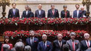 Sessão Solene Comemorativa do 44.º Aniversário do 25 de Abril. Fonte: parlamento.pt